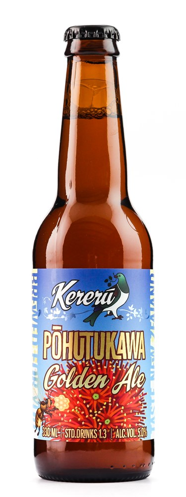 KERERU POHUTAKAWA GOLDEN ALE 330ml