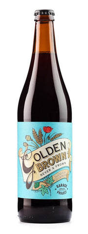 GARAGE PROJECT GOLDEN BROWN ALE 7% 650ML