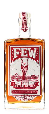 FEW BOURBON WHISKEY 46.5% 750ML