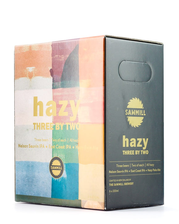 SAWMILL 3X2 HAZY MIX SIX PACK 330ML