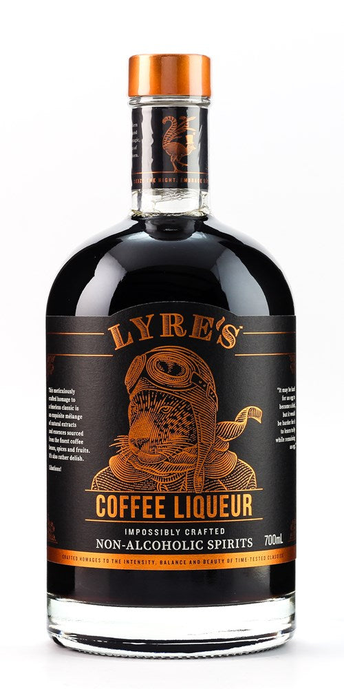LYRES COFFEE LIQUEUR 700ML NON ALCOHOLIC SPIRIT