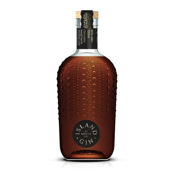 ISLAND GIN LIMITED EDITION BLACK LABEL CACAO 40% 700ML