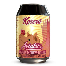 KERERU AVIATRIX RASPBERRY ALE (GLUTEN FREE) 330ML CAN
