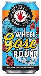 LEFT HAND BREWING WHEELS GOSE ROUND 355L