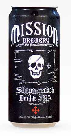 MISSION BREWING SHIPWRECKED 355ML