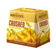 MONTEITHS CRUSHED PEAR CIDER 12 PACK