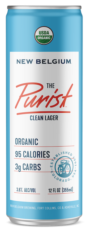 NEW BELGIUM THE PURIST CLEAN LAGER 355ML