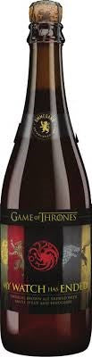 OMMEGANG GAME OF THRONES #15 MY WATCH HAS ENDED 750ML