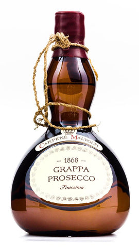 CARPENE MALVOLTI GRAPPA DI PROSECCO BIANCA FINISSIMA (BROWN BOTTLE)