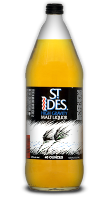 ST IDES HIGH GRAVITY MALT LIQUOR 40OZ/1L