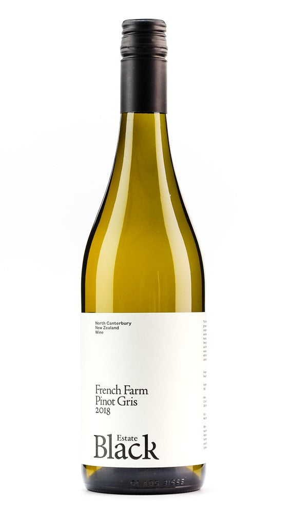 BLACK ESTATE FRENCH FARM PINOT GRIS NORTH CANTERBURY 20