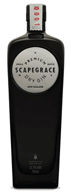 SCAPEGRACE DRY GIN 42.2% 700ML