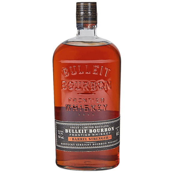 BULLEIT BOURBON BARREL STRENGTH 62.7% 750ML