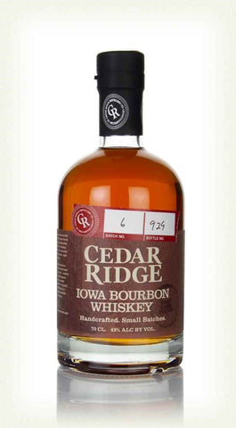 CEDAR RIDGE BOURBON PORT CASK FINISH 43% 700ML