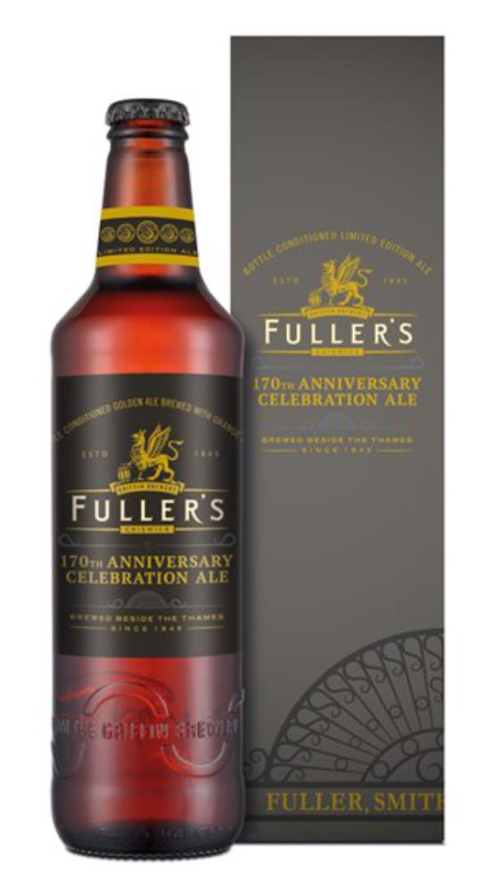 FULLERS 170TH ANNIV ALE BOTTLE 500ML