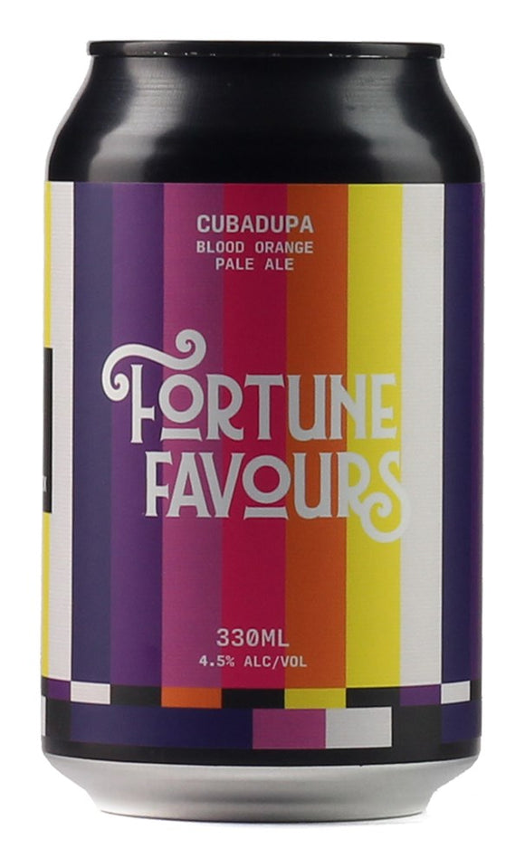 FORTUNE FAVOURS CUBA DUPA BLOOD ORANGE PALE ALE 330ML