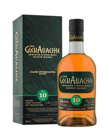 GLENALLACHIE 10 CASK STRENGTH BATCH #1 57.1% 700ML