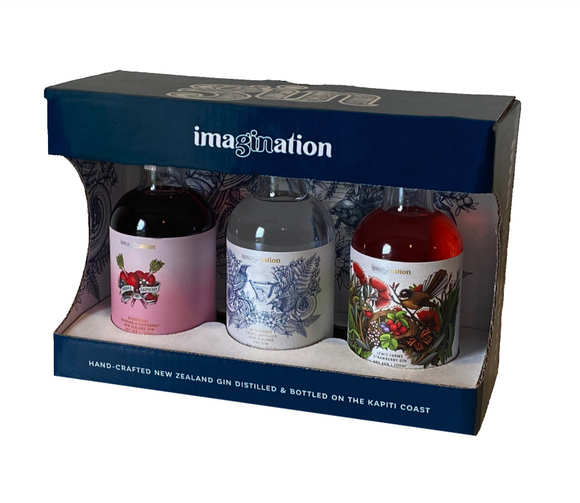 IMAGINATION GIFT PACK 3 x 200ML GIN