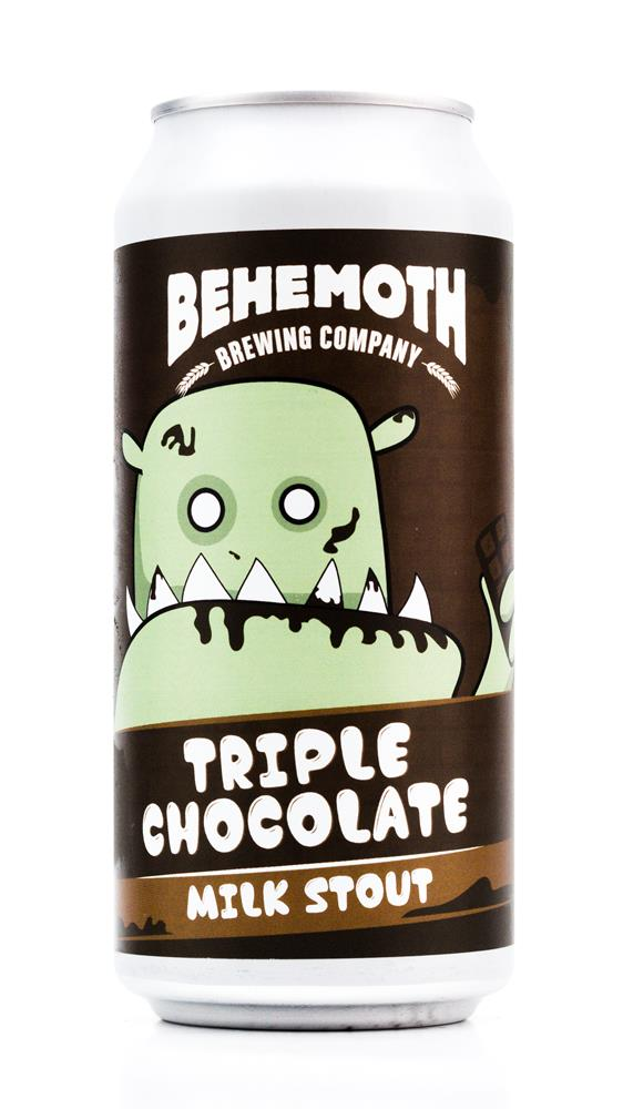 BEHEMOTH TRIPLE CHOCOLATE STOUT 440ML
