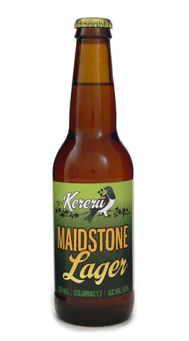 KERERU MAIDSTONE LAGER 330ML