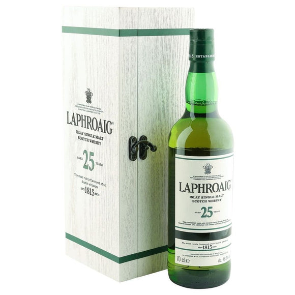LAPHROAIG CASK STRENGTH 25YO 2016 EDITION  48.6% 700ML