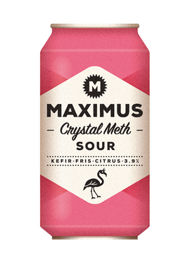 MAXIMUS SOUR CRYSTAL METH 330ML