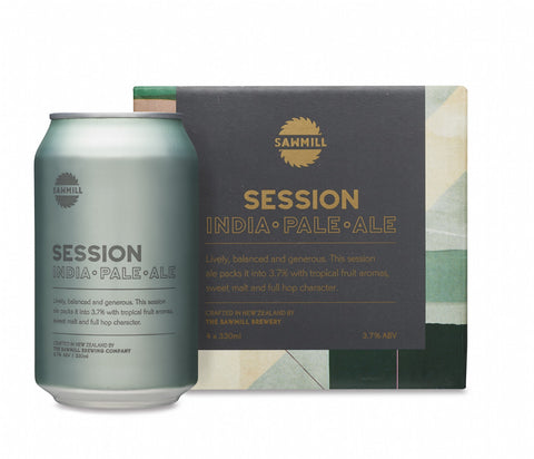 SAWMILL SESSION IPA CAN 330ML 4PACK