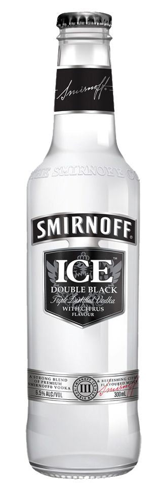 SMIRNOFF ICE DOUBLE BLACK 7% STB 300ML 10PK