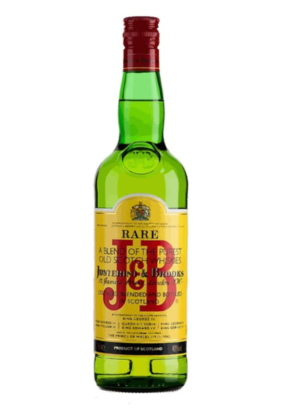 J&B BLENDED SCOTCH 1L