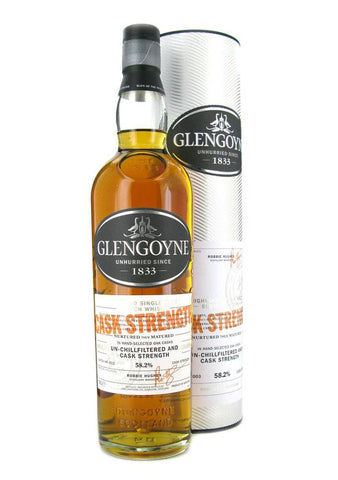 GLENGOYNE CASK STRENGTH BATCH #7 58.9% 700ML