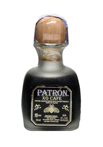 PATRON XO CAFE LIQUEUR 50ML MINIATURE