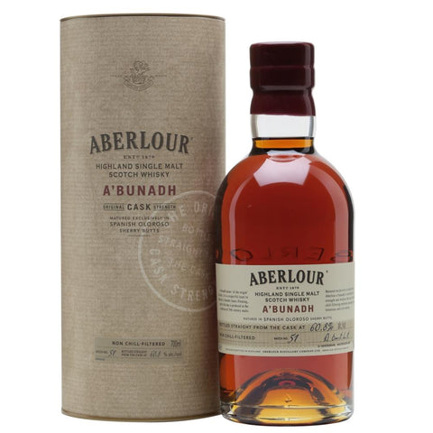 ABERLOUR A'BUNADH BATCH 65 60.8% 700ML