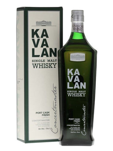 KAVALAN CONCERTMASTER PORT FINISH 40% 700ML