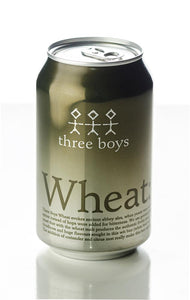 THREE BOYS WHEAT CAN 330ML