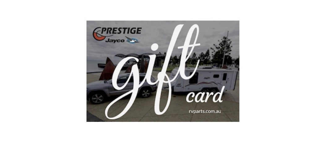 RV Parts Gift Card