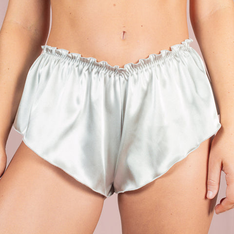 Classic French Knicker - Silver