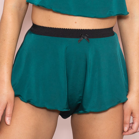 Tall French Knicker - Emerald Jersey