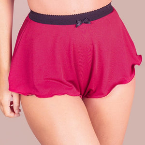Tall French Knicker - Cranberry