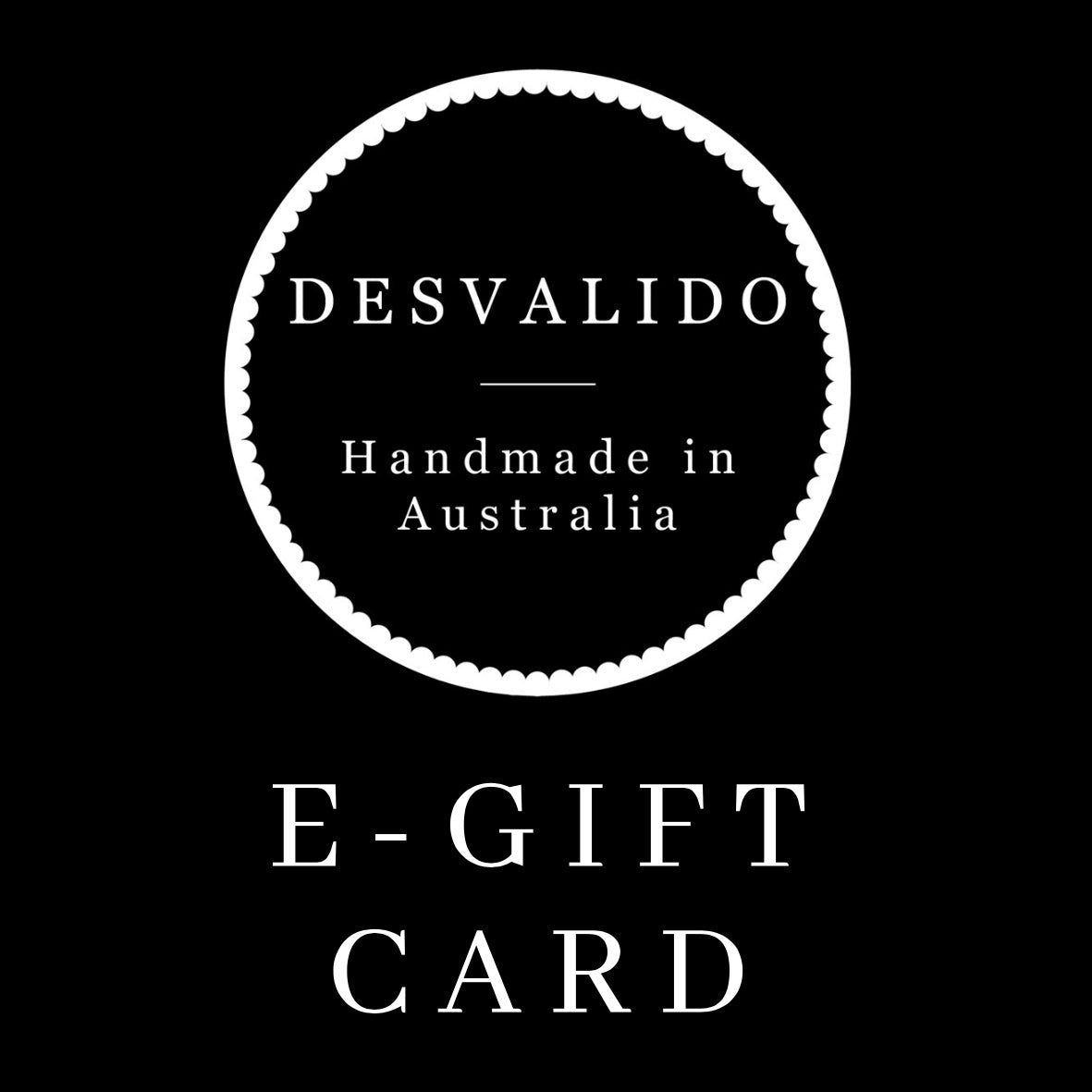 The Desvalido Gift Card