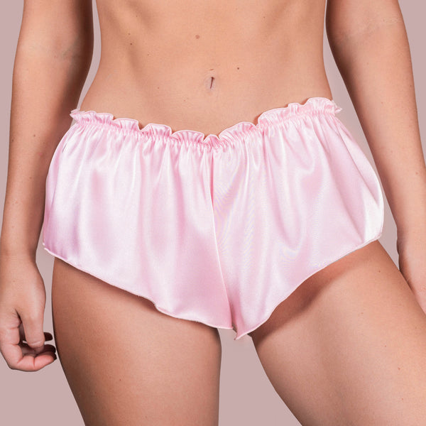 Classic French Knicker - Pastel Pink