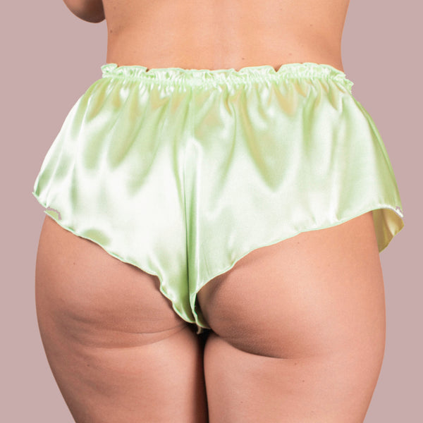 Classic French Knicker - Lime