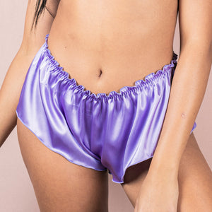 Classic French Knicker - Violet