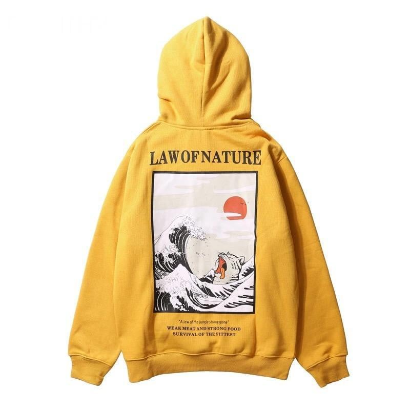 Sweat Hoodie LAW OF NATURE - Boutique en ligne Streetwear