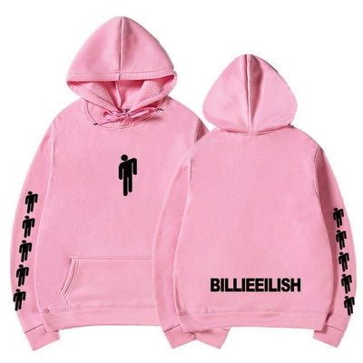 Hoodie BILLIE EILISH™ - Rose / S - Boutique en ligne Streetwear