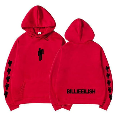 Hoodie BILLIE EILISH™ - Rouge 2 / S - Boutique en ligne Streetwear