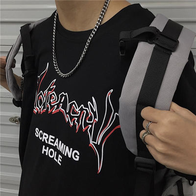 T-shirt screaming - Boutique en ligne Streetwear
