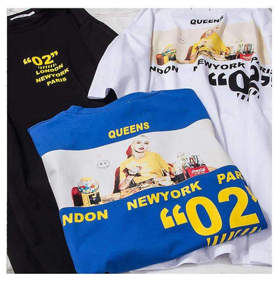 T-shirt QUEENS - Boutique en ligne Streetwear