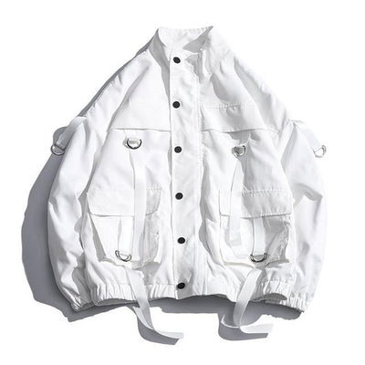 Veste SHADOWS - BLANC / XL - Boutique en ligne Streetwear