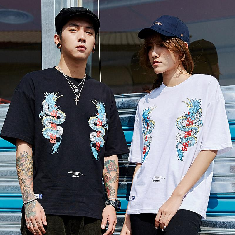 T-shirt CHinese Dragon - Boutique en ligne Streetwear