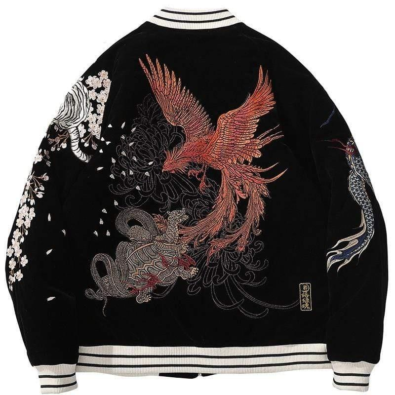 Veste Brodé Dragon